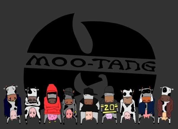 'Moo Tang Clan' illustration by Patrick Moberg