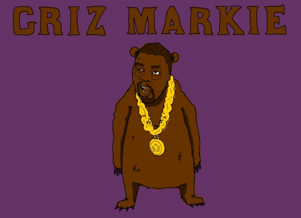 'Griz Markie' illustration by Patrick Moberg